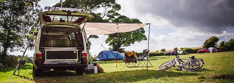 Wohnmobil Urlaub Camper Sonne Matratze