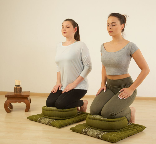 Meditationskissen Set L