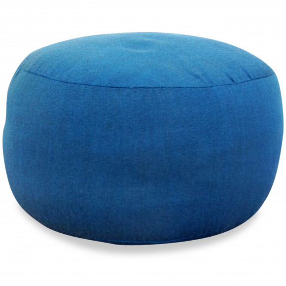 kleines Zafu Meditationskissen, hellblau