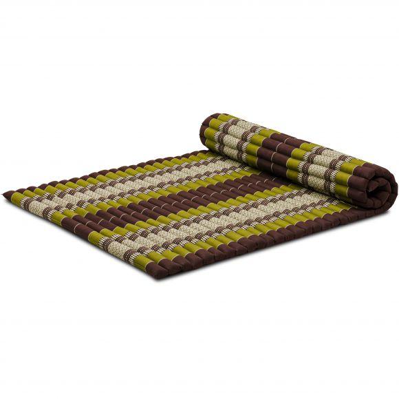 Kapok Rollmatte, Gr. L, braun / grün