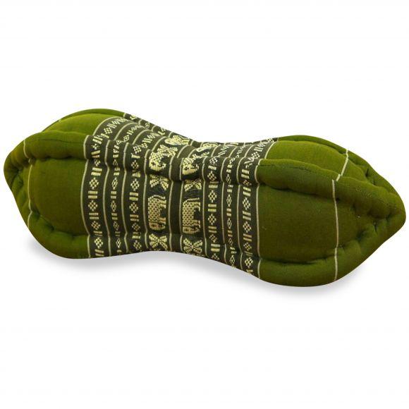 Papaya Nackenkissen, Thaikissen, grün/Elefant