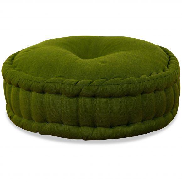 Zafu Meditationskissen, grün