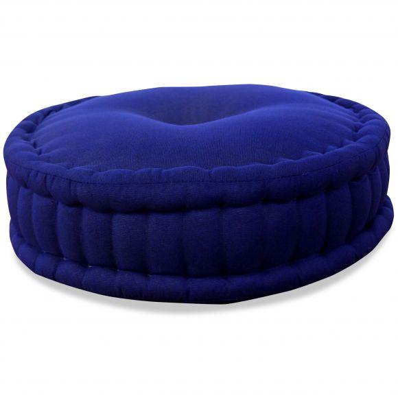 Zafu Meditationskissen, blau