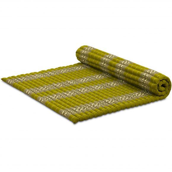 Kapok Rollmatte, Gr. XL, grün / Elefanten