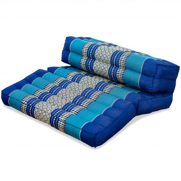 Stützkissen, Yogakisssen (klappbar)  blau