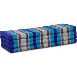 Kapok Faltmatratze XL, Klappmatratze, blau