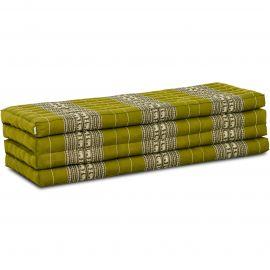 Kapok Faltmatratze XL, Klappmatratze, grün/Elefanten