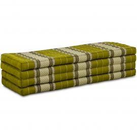 Kapok Faltmatratze XL, Klappmatratze, grün