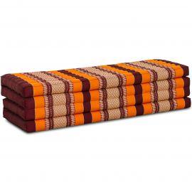 Kapok Faltmatratze XL, Klappmatratze, orange