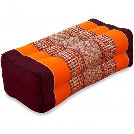Stützkissen, Yogakissen, orange