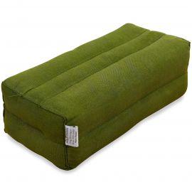 Stützkissen, Yogakissen grün (einfarbig)