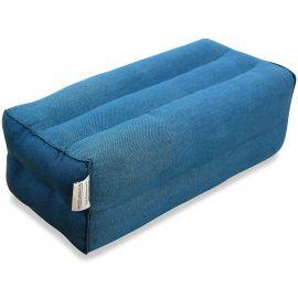 Stützkissen, Yogakissen hellblau (einfarbig)