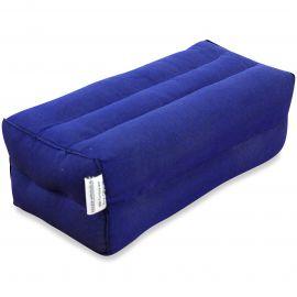 Stützkissen, Yogakissen blau (einfarbig)