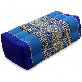 Stützkissen, Yogakissen, blau