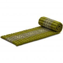 Rollmatte, Gr. S, grün / Elefanten