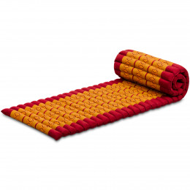 Kapok Rollmatte, Gr. S, rot / gelb