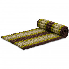 Kapok Rollmatte, Gr. M, braun / grün