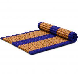 Kapok Rollmatte, Gr. L, blau / gelb