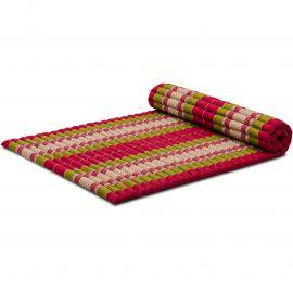 Kapok Rollmatte, Gr. L,  rot / grün