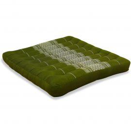 Kapok Thaikissen, Sitzkissen, Gr. L, grün