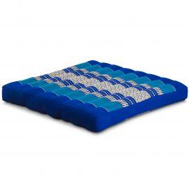 Kapok Thaikissen, Sitzkissen, Gr. L, blau