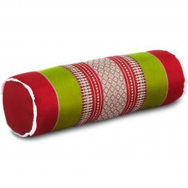 Kapok Nackenrolle, rot / grün
