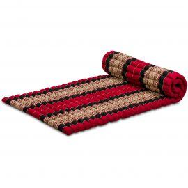 Kapok Rollmatte, Gr. M, rot / schwarz
