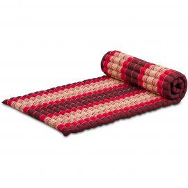 Kapok Rollmatte, Gr. M, rubinrot