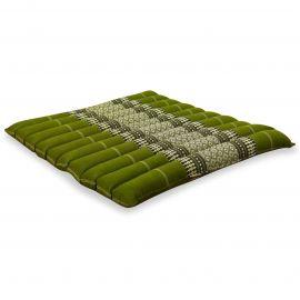 Kapok Thaikissen, Steppkissen, Gr. L, grün