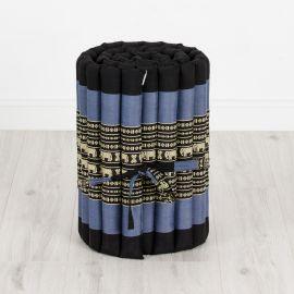Rollmatte, Gr. S, blau / Elefanten