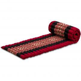 Kapok Rollmatte, Gr. S, rot / Elefanten