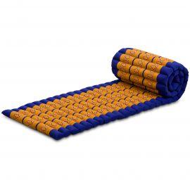 Kapok Rollmatte, Gr. S, blau / gelb