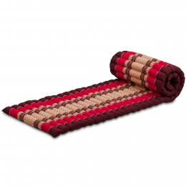 Kapok Rollmatte, Gr. S, rubinrot