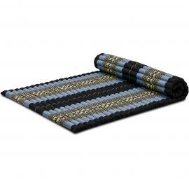 Kapok Rollmatte, Gr. L, blau / Elefanten