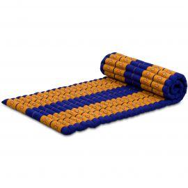 Kapok Rollmatte, Gr. M, blau / gelb
