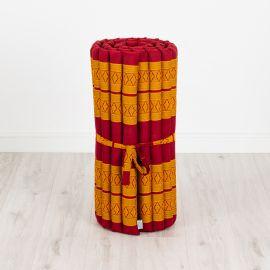 Kapok Rollmatte, Gr. M, rot / gelb