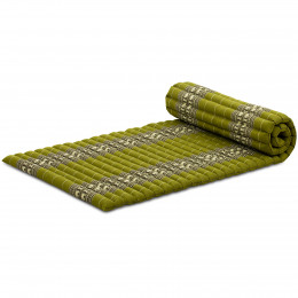 Kapok Rollmatte, Gr. M, grün / Elefanten