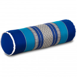 Kapok Nackenrolle, blau