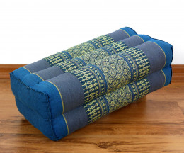 Stützkissen, Yogakissen, hellblau