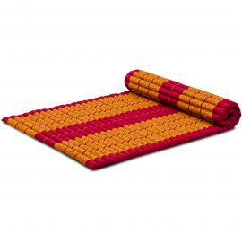 Kapok Rollmatte, Gr. L, rot / gelb