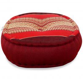 Zafu Meditationskissen, rubinrot