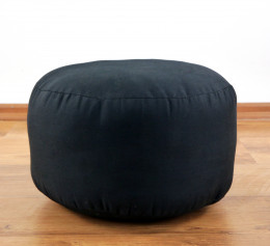 kleines Zafu Meditationskissen, schwarz