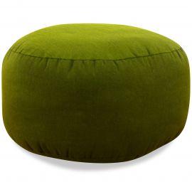 kleines Zafu Meditationskissen, grün