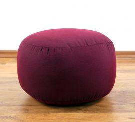 kleines Zafu Meditationskissen, rot