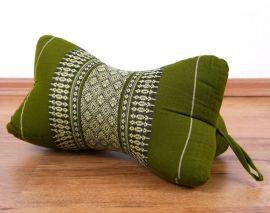 Nackenkissen in Knochenform, Thaikissen, grün