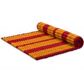 Kapok Rollmatte, Gr. XL, rot / gelb