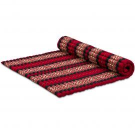 Kapok Rollmatte, Gr. XL, rot/Elefanten