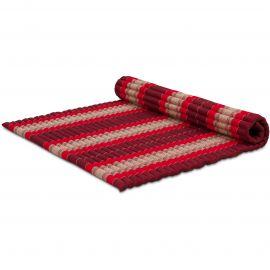 Kapok Rollmatte, Gr. XL, rubinrot