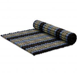 Kapok Rollmatte, Gr. XL, blau / Elefanten