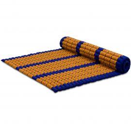 Kapok Rollmatte, Gr. XL, blau / gelb